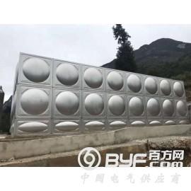 不锈钢水箱定制做,方形水箱价格,消防水箱批发