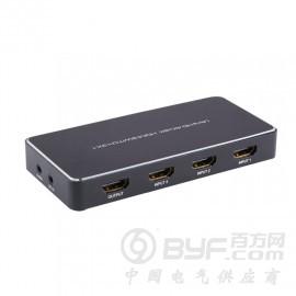 深圳艾尼奇科技HDMI切换器3切1 音频分离带画中画 4K