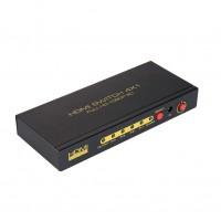 深圳市艾尼奇科技HDMI切换器4切1 1080P