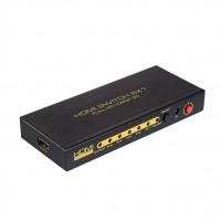 深圳市艾尼奇科技HDMI切换器5切1 1080P 60HZ