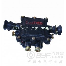 BHD2/20-6T矿用隔爆型低压电缆接线盒 煤矿防爆接线盒