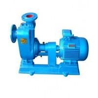 无锡ZW自吸无堵塞排污泵铸铁不锈钢材质