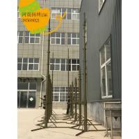 野战营房升降避雷针15米天线升降杆避雷针特种防雷装置