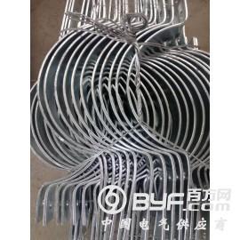 供应全国输电线路杆用扁铁通用抱箍山东富华
