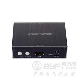 深圳市艾尼奇科技AV+S端子转HDMI转换器