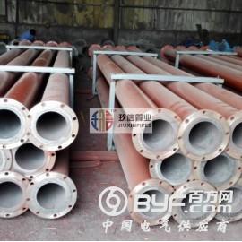 铁矿石精选浮选精矿输送用刚玉陶瓷复合管