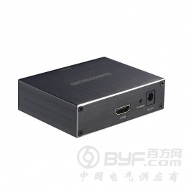 深圳市艾尼奇科技HDMI转DVI带3.5音频+光纤输出转换器