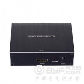艾尼奇科技HDMI转HDMI+光纤+同轴+3.5音频转换器