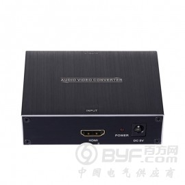 深圳市艾尼奇科技 HDMI转VGA+光纤+3.5音频转换器