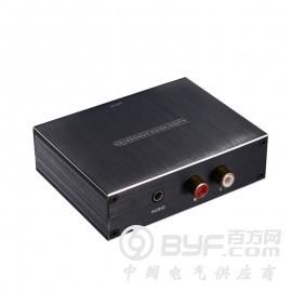 深圳市艾尼奇科技   光纤同轴转RCA音频转换器