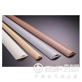 热销河南圆形地板配线槽 PVC弧形地板线槽