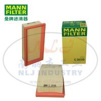 MANN-FILTER(曼牌滤清器)空滤C2039