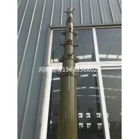 15米便携式电动升降杆避雷针帐篷手动天线升降杆避雷针升降杆
