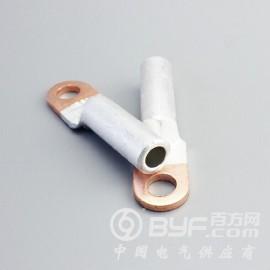 闭口电缆铜鼻子紫铜接头DT-35电缆紫铜线鼻子线耳铜接线端子