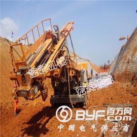供應基坑護坡多功能地質鉆機  履帶式深基坑錨固鉆機現貨