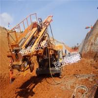 供应基坑护坡多功能地质钻机  履带式深基坑锚固钻机现货