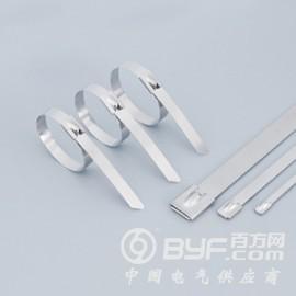 白钢不锈钢扎带-滚珠自锁式