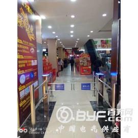 深圳超市单向感应门红外入口自动感应语音提示设备厂家