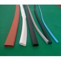 加厚超柔软弹性耐高温200度耐磨硅胶热收缩套管