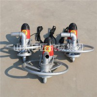 山东巨匠SJD-2A便携式电动打井机小型民用电动打井机