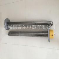 不锈钢法兰加热管 污水处理加热棒 水箱加热管 非标定制