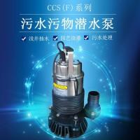 公园花木浇水潜水泵CCS-2.4SA污水泵