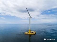 发电量如何?法国浮式风电样机首年成绩单出炉
