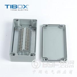 TIBOX新品戶外防水上海持續設備電纜鑄鋁端子箱配電箱殼體
