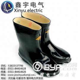 電工絕緣雨靴 中筒橡膠鞋 高壓絕緣靴 絕緣電工水鞋