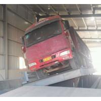 侧翻式散料翻板卸车平台使用要求