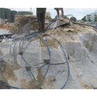井庄开采岩石采用液压劈裂机设备