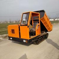 橡胶履带自卸车 履带运输车 坡地载重履带车