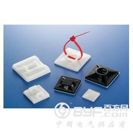 供应电气辅材KSS黏式配线固定座 HC-101
