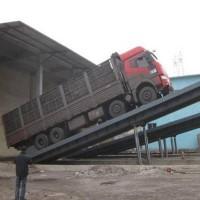 粮食快速卸车液压翻板卸车平台