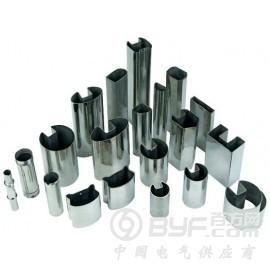 不銹鋼凹槽管規格 夾玻璃用不銹鋼管