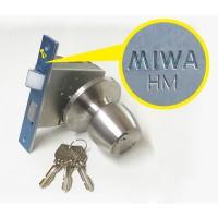 来自日本进口的门锁MIWA品牌HMW型球锁