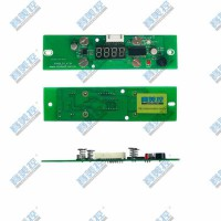 广东深圳汽车车载变频节能冰箱数显控制器方案开发 PCB板打样
