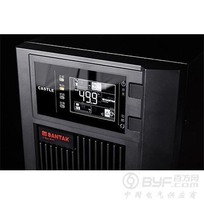 山特UPS电源C1K在线式内置电池1000VA负载800W