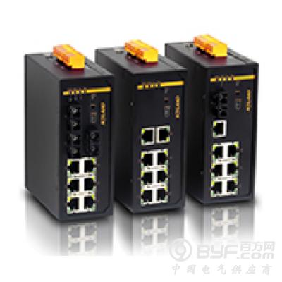 KIEN7009网管型交换机9端口二层简单网管型卡轨式交换机