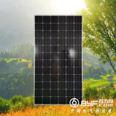 云浮晶天太陽能電池板330W屋頂光伏系統10KW單晶太陽能板