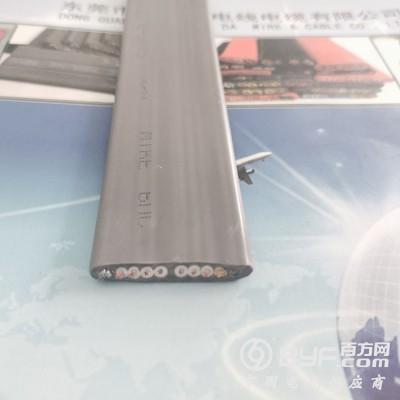 興晟電業供應8*0.75mm2+2G電梯專用帶鋼絲扁電纜
