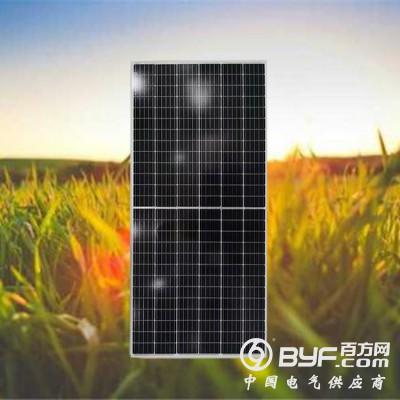 廣東晶天太陽能板400W并網分布式光伏系統單晶硅太陽能電池板