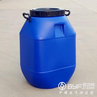 蓝色50L塑料桶 方形50升化工塑料桶
