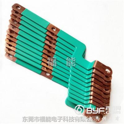 变压器转换连接镀锡硬铜排绝缘涂层铜母排福能更新制作