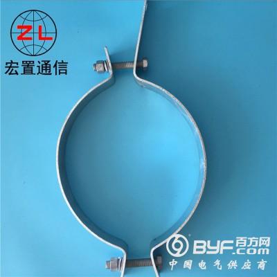 ADSS光缆金具 杆用紧固件单边抱箍