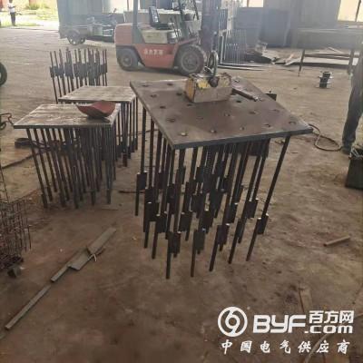 沧州 中鸣机械 厂家直供幕墙预埋铁板 桥梁预埋件定制