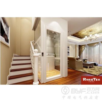 樓梯中間的小電梯,四面觀光時尚美觀
